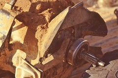 saudi088 (Vonkenna) Tags: saudiarabia seismicexploration 1980s bellhousing gearbox toyota