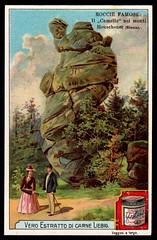 Liebig Tradecard S710 - The Camel Rock (cigcardpix) Tags: tradecards advertising ephemera vintage liebig chromo