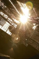"LAMINOIR ""TRAIN-380"" [BE] (urbex-vision) Tags: urbex urbexvision urbanexploration explorationurbaine urban exploration urbaine usine factory industrie industry industrial industriel abandoned abandonn lost forbidden forgotten decay dlabrement place pont belgium belgique laminoir train380 rusty mtallurgie metal roulant dust rouille charleroi sidrurgie acier billettes stripmill billets steel warehouse huge hangar norme vide empty overheadcrane"