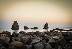 Acitrezza al tramonto (Roberto Fiscella) Tags: robertofiscella fiscellaroberto sicilia sicily nikon tramonto sunset mare faraglioni scogli colori colors malavoglia