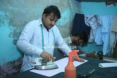 A Tailor in Sukkur (Akhuwat BPP) Tags: sukkur pakistan interest free loans microfinance entrepreneurship ordinary people small business akhuwat tailor