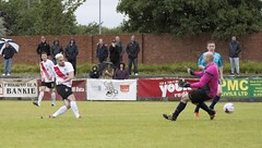 Stevie Young comes off the bench to extend Bankies lead (Stevie Doogan) Tags: clydebank glasgow perthshire exsel group sectional league cup wednesday 10th august 2016 holm park