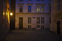 Frozen in Time - Old Vienna (redy1966) Tags: 2016 frozenintime old town historic center wien vienne altstadt mlkersteig mlkerbastei moelkerbastei moelkersteig vienna twilight blue hour blaue stunde