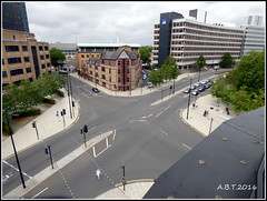 New Road Layout at Princes Street-Civic Drive Junction Ipswich (UK) (Alan B Thompson) Tags: 2016 ipswich suffolk eastanglia lumix fz72 picassa