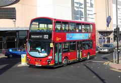 GAL WVL371 - LX60DXB - BEXLEYHEATH SHOPPING CENTRE - WED 17TH AUG 2016 (Bexleybus) Tags: bexleyheath shopping centre broadway kent go ahead goahead london vovlo wrightbus gimini eclipse tfl route 132