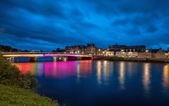 Inverness (bervaz) Tags: scotland escocia puente bridge agua water river rio reflejos nocturna noche largaexposicin longexposure sony a7rm2 1635mm 1635 variotessart variotessar variotessartfe1635mmf4zaoss