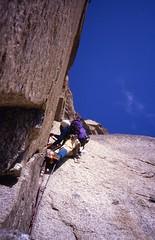 90 Meter Diedre, American Direct (andywalker1) Tags: andrewwalker americandirect dru petitdru chamonix alps alpineclimbing