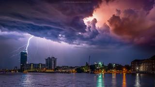 Thunderstorms in Berlin