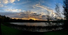 #240 yet another HDR pano of the Lake at Sunset (imageo) Tags: hdr sunset lake