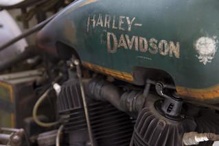Vintage Harley-Davidson.