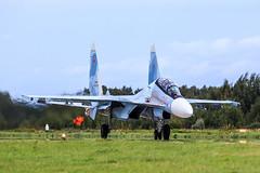 "Su-30SM ""Falcons of Russia"" (RealHokum) Tags: russianairforce airshow aircraft airplane army2016 aerobaticteam fighter flanker falconsofrussia sukhoi su30sm ef200400 kubinka"