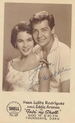Lolita Rodrigues and Eddie Arenas in Gabi ng Shell. Circa 1955. (ed_mola) Tags: lolita rodrigues eddie arenas gabi ng shell dzrh