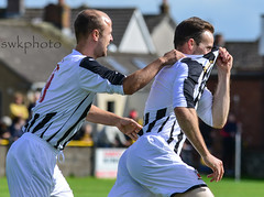 Auchinleck talbot v Beith juniors - William Hil scottish cup (swkphoto) Tags: beith talbot cabes mights bot beechwood willinam hill scottish cup tackels red card yellow goals action drama