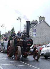 Steaming Along (Katie_Russell) Tags: ni nireland ireland northernireland ulster norniron garvagh show clydesdale coderry colderry colondonderry countyderry countylderry countylondonderry car cars vintage vehicle vehicles steam engine