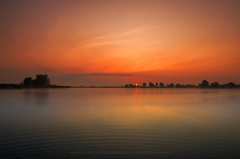 In the Morning (Mirek Pruchnicki) Tags: radymno wojewdztwopodkarpackie polska morninglight lake zek sunrise sky water sun sunlight landscape scenery