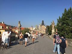 08/09 #hd6 #Praha #CharlesBridge (TiggerSnapper) Tags: hd6 praha charlesbridge