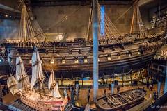 2016 - Baltic Cruise - Stockholm - Vasa Museum 2 of 4 (Ted's photos - For Me & You) Tags: 2016 cropped stockholm sweden tedmcgrath tedsphotos vignetting stockholmsweden vasa vasamuseum wasa ship boat museum wasamuseum sails sailboat gunship