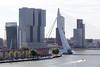 Erasmusbrug en de Rotterdam vanaf het Witte Huis (Tom van der Heijden) Tags: openmonumentendag rotterdam wittehuis dakplatform erasmusbrug derotterdam manhattanaandemaas