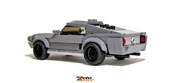 Mustang 67 Fastback (ZetoVince) Tags: eleanor shelby muscle pony fastback car mustang ford greek lego zetovince zeto vince