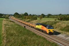 70801. Compton Beauchamp. 13-09-2016 (*Steve King*) Tags: 70801 compton beauchamp colas rail class 70 6m50