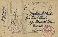 Gistel - Marine Feldlazarett 3 - 1918 (Feldpost 14) Tags: wwi worldwari flandern gistel