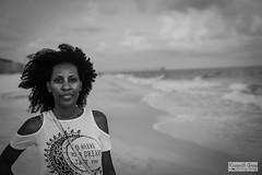 Mel_a' la plage.. (Ken B Gray) Tags: beach portrait bw mono monochrome noiretblanc ambient coast zeiss 50mm planar manualfocus mel 6d canon happytimes getaway plage gowhereyourdreamstakeyou grain