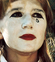 The Clown's Tear (coollessons2004(almost completely off)) Tags: clown tear emotive girl poetry poem