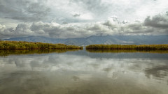 Prespes (Alexis Karnoutsos) Tags: prespes lake water landscape sky clouds reflection