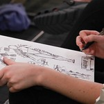 Student Sketching: FYE Presentation