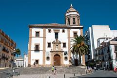 Iglesia de Nuestra Senora de la Merced, Ronda, Andalusia, Spain (rmk2112rmk) Tags: iglesiadenuestrasenoradelamerced ronda andalusia spain plazadelamerced plaza church