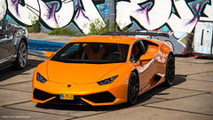 Lamborghini Huracan (Bram van Heijnsbergen) Tags: supercar porsche gt3 porschegt3 bentley continental lamborghini lamborghinihuracan huracan german italian maserati 3200gt car photoshoot photography bvhphotography ferrari f430 mercedes mercedesamg c63 c63amg novitec novitecgroup lotus evora corvette mustang gt lexus rcf audi rs6 quattro