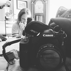 Getting our gear together and tuned up for tonight. #gk #goldenkielbasa #canon #nikon #hashtag #courtneylynnphotography ## #photographerslife (Courtney Lynn Robertson) Tags: instagramapp square squareformat iphoneography uploaded:by=instagram moon