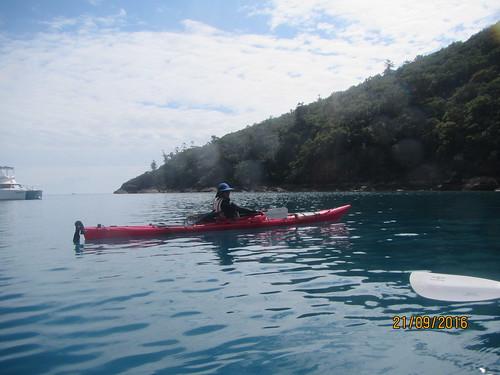 Outing to Manta Ray Bay