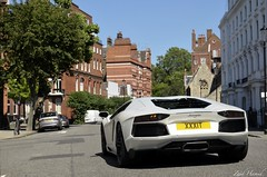 Bianco Canopus. (ImZaidHamid) Tags: london nikon chelsea shot rear knightsbridge filter lp 700 lamborghini supercar v12 polarised 7004 18105mm aventador d5100 lp700 lp7004 xxxit
