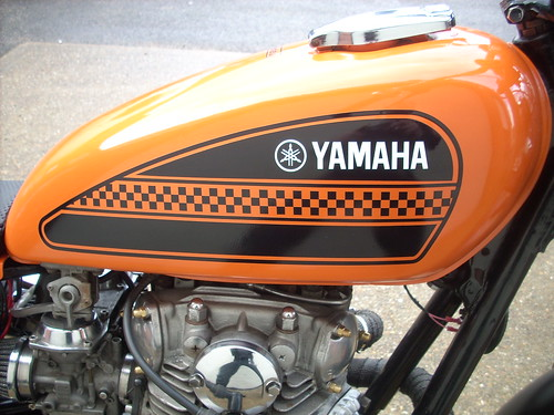 uk forsale custombike flattracker redmax yamahaxs650 streetracker championbodywork 740bigborekit