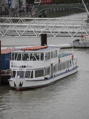 London - Thames River Traffic (Darlo2009) Tags: uk greatbritain england london thames boat ship unitedkingdom gb riverthames cityoflondon cityofwestminster londonrose campionlaunches thelondonrose