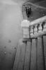 (SpeNoot) Tags: street bw stone stairs scooter minimal nocrop pápa kő lépcső minimál korlát robogó