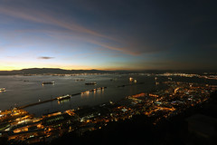Gibraltar Twilight Zone (Mosh70) Tags: gibraltar