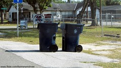City of Tampa - Lidless Otto Classic 95 gallon carts (FormerWMDriver) Tags: classic trash garbage can bin collection container gal otto rubbish waste cart refuse 95 sanitation gallon 1920x1080