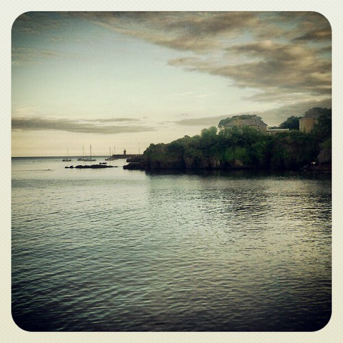 Dunmore East for the weekend.