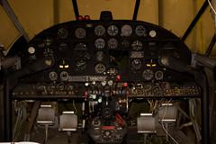 KIKV-12/15/2012 (Doug Lambert) Tags: cockpit iowa beech ankeny uc45j n41005 iowaaviationheritagemuseum