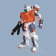 Jur FSD-12 - Recon Class (Fredoichi) Tags: robot lego space military micro mecha mech microscale fredoichi