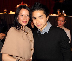 Always a privilege working with my good friend Lucy Liu and her family (mrpesheanzhang) Tags: nyc newyorkcity ny newyork me girl fashion female canon photography lucy liu model media photographer modeling manhattan chinese jackson queens actress heights peshean