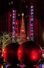 New York Christmas (wowography.com) Tags: christmas street nyc newyorkcity family friends red holiday ny water colors architecture night reflections nikon theater dusk joy rockefellercenter happiness christmastree holly ornaments believe handheld santaclaus mistletoe cheer christmaseve radiocitymusichall greetingcard 2012 rockettes ibelieve saintnick bigballs 18200mm d90 wowography sclip 124003 wowographycom cherrycherrychristmas