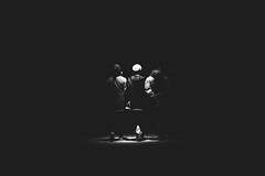 Street Walkers (EsteveSegura) Tags: street people white black film blanco dead is back amazing shoot y awesome negro espalda walkers streetboard blackwhitephotos