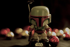 Merry Christmas Boba Fett Style (Jack Deem) Tags: santa christmas xmas black canon star decoration 7d boba wars fett canon7d