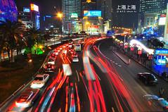 "DSC_9143 (Minions_) Tags: life china city travel asia shanghai prc 中国 上海 城市 夜景 cityview ""shanghai 亚洲 车流 中国上海 魔都"