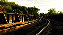MAYO'S RAILS (BLACK VOMIT) Tags: road old railroad bridge train river manchester island james virginia spring time ns bottom norfolk rail rr richmond southern va rails mayo pipeline freight springtime floodwall shockoe mayos