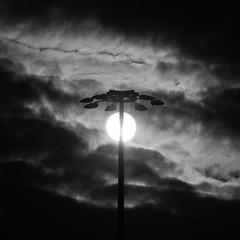 sun in its crown (Vasilis Amir) Tags: blackandwhite sun square dawn column  mygearandme mygearandmepremium mygearandmebronze vasilisamir