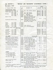 Kodak Retina/Retinette & Accessories - Dec 1959 Price List - Page 2 - Lens, Hood and Finder prices (Gareth Wonfor (TempusVolat)) Tags: gareth tempus volat tempusvolat mrmorodo kodak retina retinette pricelist price list prices december 1959 reflex iiic iic ib iia ia iis iiis garethwonfor mr morodo wonfor
